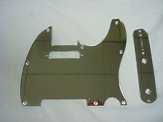 Mirror Acrylic (Chrome Colored) Pickguard Set Fits Fender Tele Telecaster