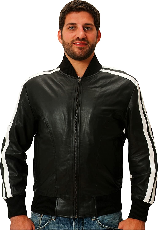CD D C Leather Track Jacket Nappa Sheepskin Mens Pharrel Williams Style
