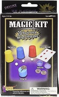 Forum Novelties 62505 Deluxe Magic Kit - 20 Magic Trick Secrets Revealed