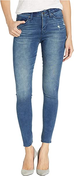 Seamless Skinny Jeans in Light Blue