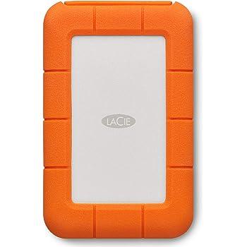 LaCie STFS2000800 - Disco Duro Externo (2 TB, USB Tipo C, USB 2.0 ...