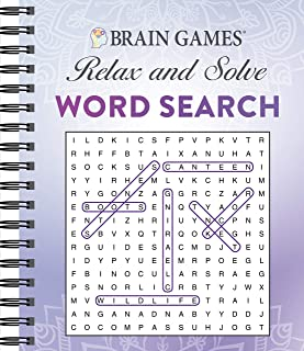 Brain Games - Relax and Solve: Word Search (Purple)
