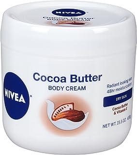 NIVEA Cocoa Butter Body Cream with Deep Nourishing Serum, 15.5 Ounce