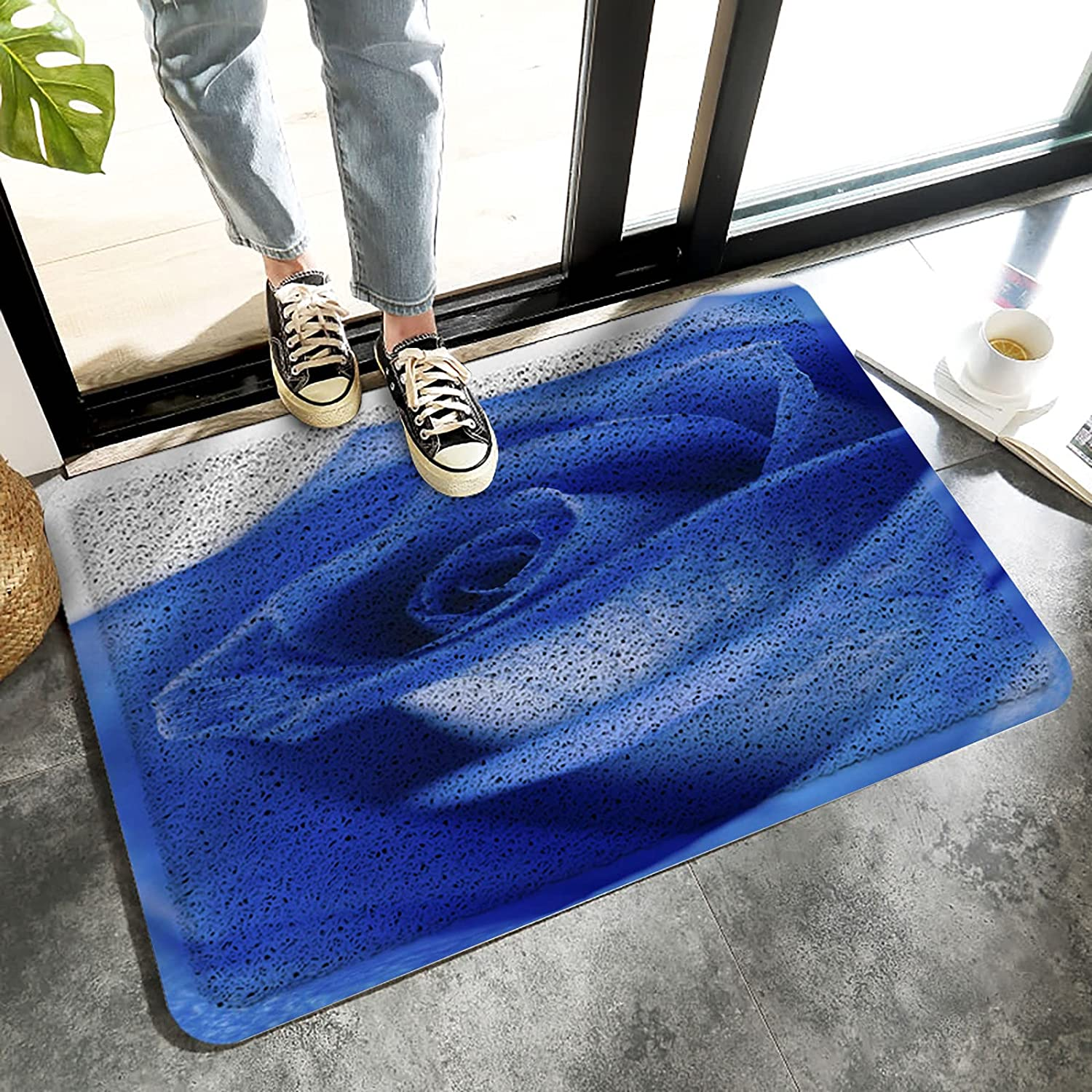 MuswannaA Front Door Welcome Mat Max Our shop OFFers the best service 71% OFF Entrance Duty Ru Heavy Non-Slip
