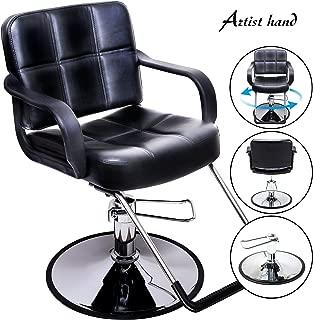 Artist Hand Hydraulic Barber Chair Salon Chair for Hair Stylist Tattoo Chair Shampoo Salon Equipment