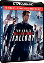 mission: impossible - fallout (blu-ray 4k ultra hd+blu-ray) Blu-ray Italian Import