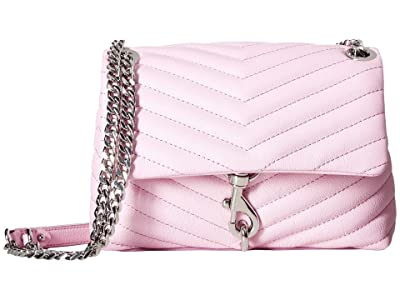 Rebecca Minkoff Edie Crossbody (Light Orchid) Cross Body Handbags