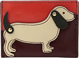 Tory Burch - Dachshund Slim Card Case