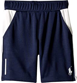 Color Blocked Performance Shorts (Little Kids)