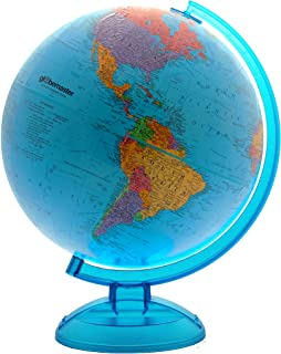 Blue Ocean World Globe By Globemaster, Desktop, English (12