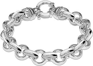 bracelet argent maille