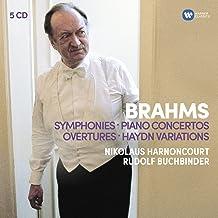 Brahms: Symphonies, Overtures, Haydn, Variations, Piano Concertos