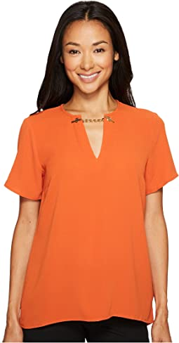 MICHAEL Michael Kors - High-Low Chain Top