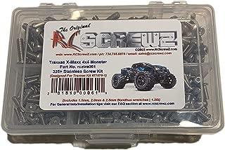 RCScrewZ Traxxas X-Maxx 4x4 Monster Truck Stainless Steel Screw Kit - tra061 - for Traxxas Kit 77076-1