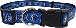 NBA Dallas Mavericks Dog Collar, Size Small. Best Pet Collar for All Sports Fans