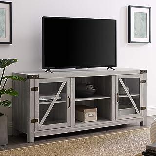 WE Furniture AZ58BDGDST TV Stand, 58