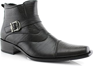 Best black buckle shoe boot Reviews