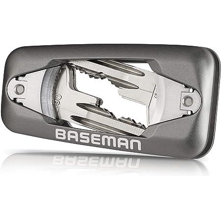 BASEMAN® Organizador de llaves con cierre rápido y cierre magnético: el innovador organizador de llaves organiza tus llaves con estilo y aporta tranquilidad a tu bolsillo.