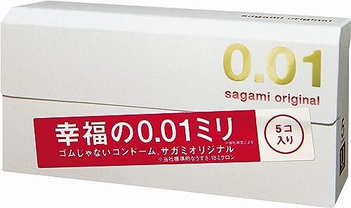 Japan Products sagami original condoms 0.01mm 5pice