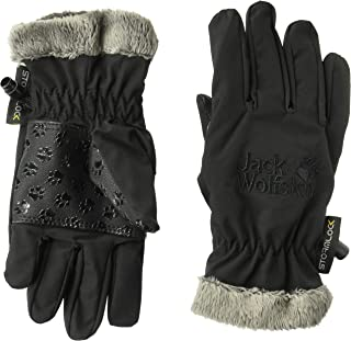 Jack Wolfskin 软壳高蓬松儿童防风保暖软壳手套