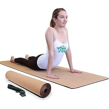 Amazon Com Ecostrength Moss Green Hemp And Jute Yoga Mat Eco Friendly Non Toxic Organic Jute And Hemp Anti Slip All Types Yoga Vegan Mat Yoga Sports Outdoors