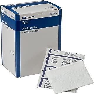 COVIDIEN 7643 Telfa Adhesive Dressing, Sterile 1's in Peel-Back Package, 3