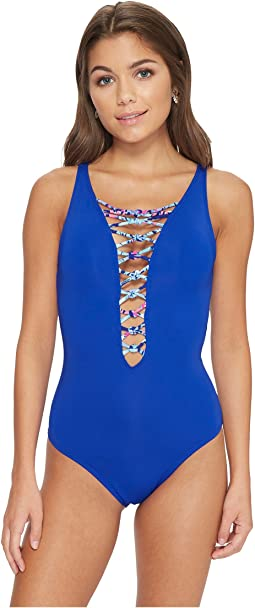 Isle Lattice One-Piece Swimsuit