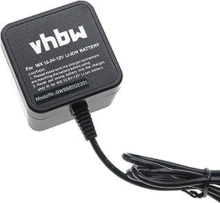 vhbw Oplader compatibel met Worx WA3503, WA3509 gereedschap Li-ion batterijen