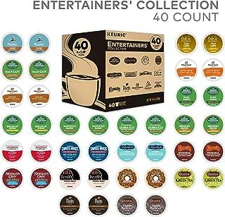 Keurig Entertainers Variety Pack Single Serve Coffee K-Cup Pod Sampler, 40 Count