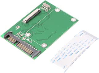 NOYITO 1.8 inches CE ZIF HDD to SATA Serial ATA 7+15Pin 22-Pin Adapter Converter with FFC Cable