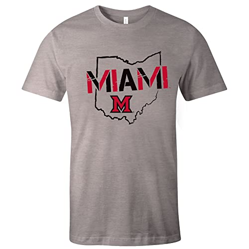 ab11e6dce1e3 Image One NCAA Stenciled Short Sleeve Triblend T-Shirt