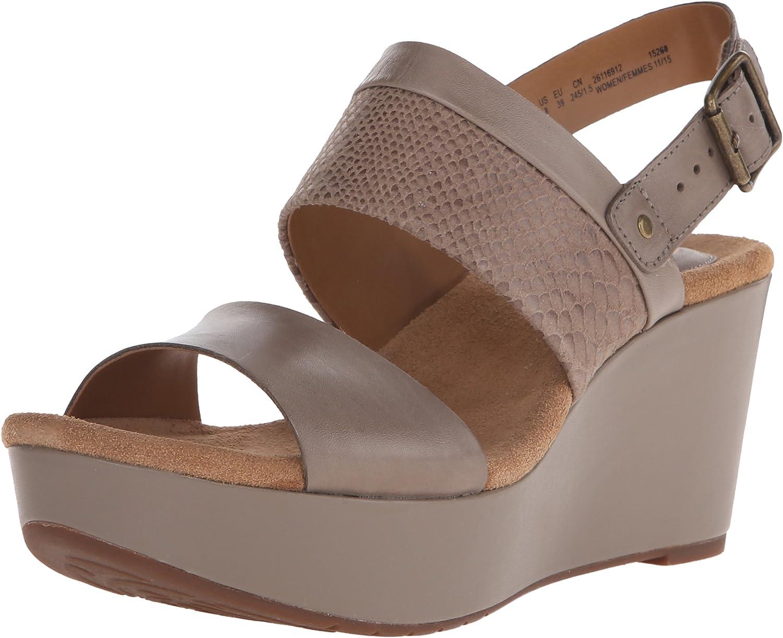 Clarks Women's Caslynn Kat Wedge Sandal