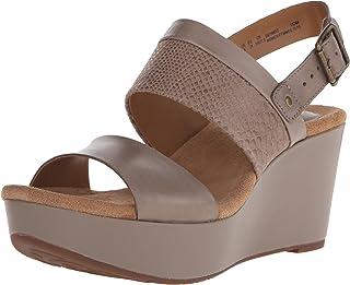 9555f051559c Amazon.com  CLARKS - Platforms   Wedges   Sandals  Clothing