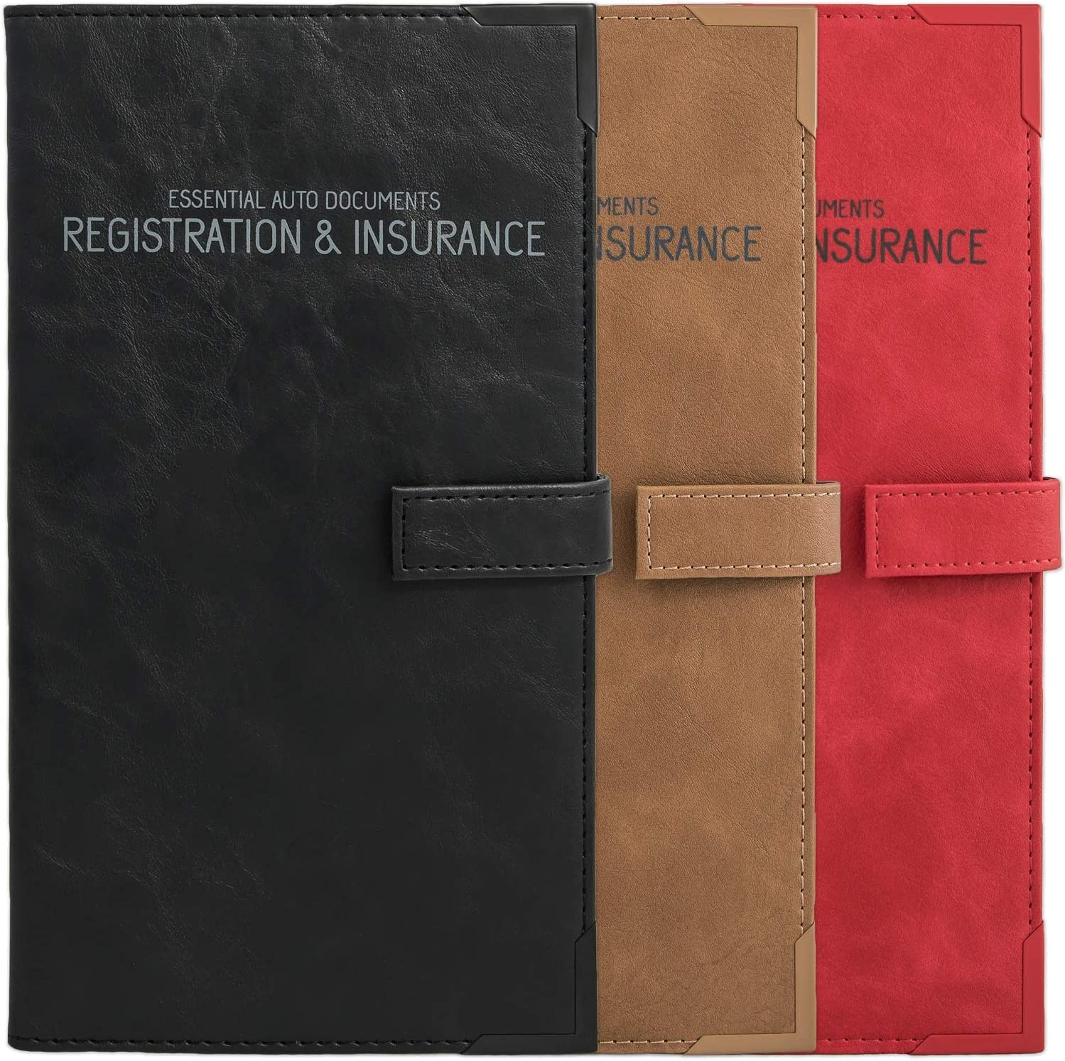 Auto Insurance and Registration Card Vehicle Box Glove Sale Max 78% OFF Holder -