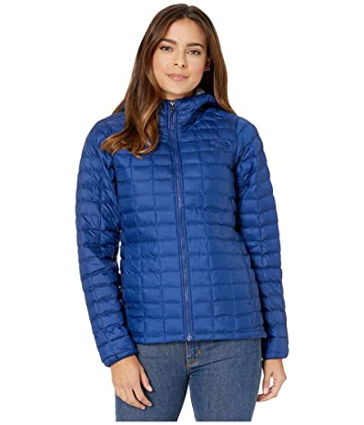 The North Face ThermoBalltm Eco Hoodie (Flag Blue Matte/Flag Blue ROM Print) Women