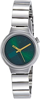 Fastrack Checkmate Green Dial Analog Watch for Women