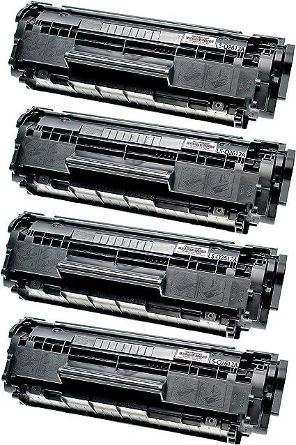 2 Logic Seek Toner Kompatibel Mit Hp Q2612a 12a Für Hp Laserjet 1022 Schwarz Je 3 500 Seiten Bürobedarf Schreibwaren