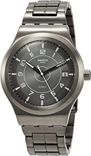 Mens Analogue Automatic Watch with Stainless Steel Strap YIM400G