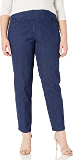 Women's Plus Size Pull-on Extra Strech Denim Jean