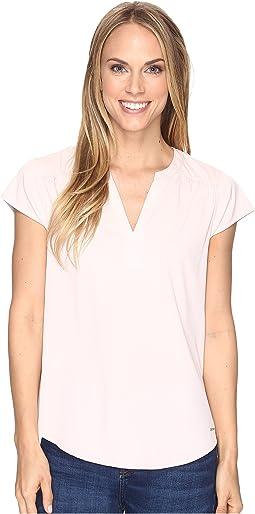 Short Flutter Sleeve T-Shirt