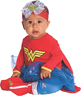 Wonder Woman Onesie Baby Costume
