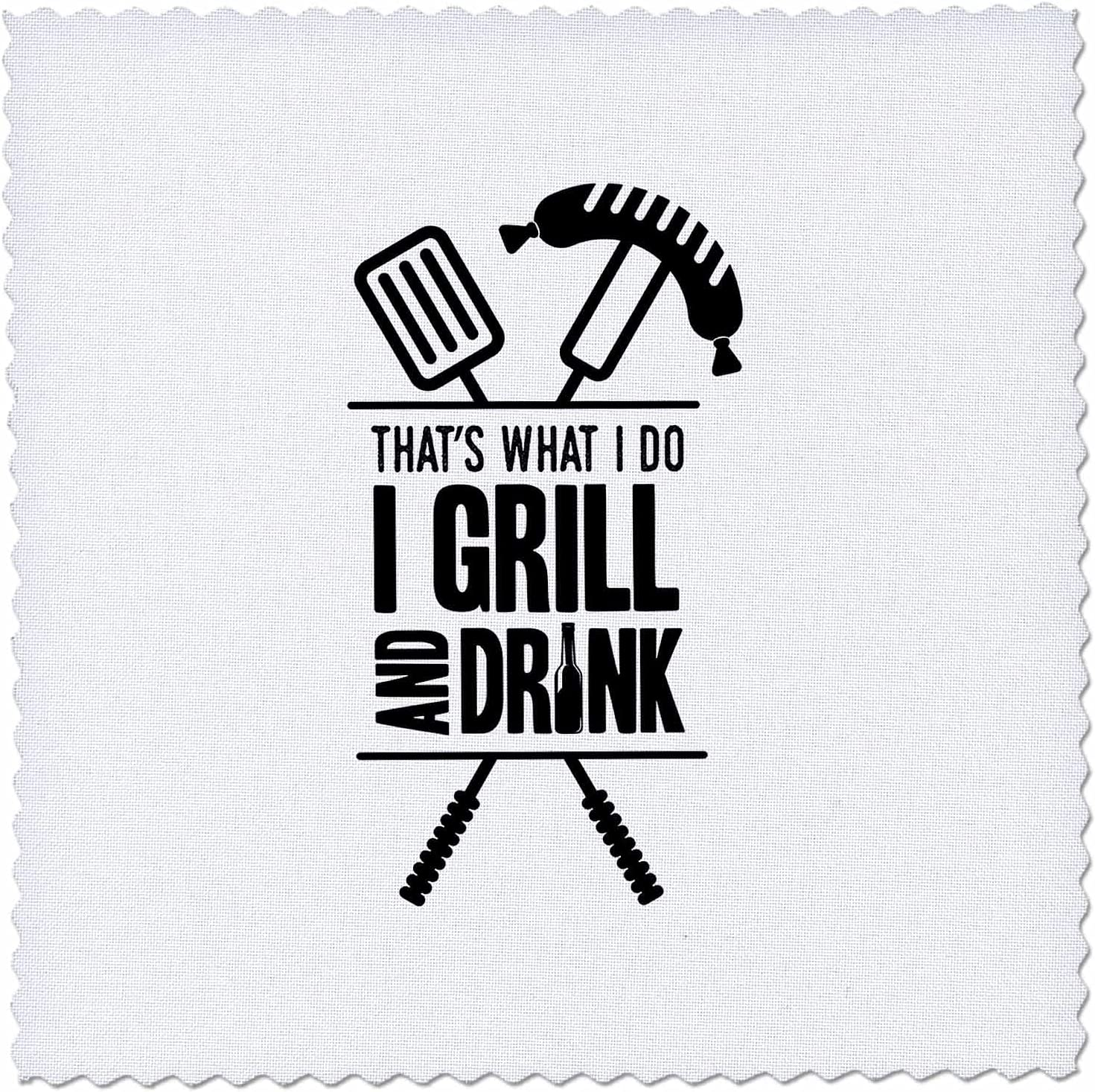 3dRose That Free Shipping Cheap Bargain Gift is What I do Grill Griller Max 69% OFF Drink Gi Design and BBQ