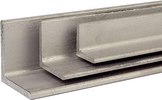 VA Winkel Edelstahl V2A Winkeleisen Oberfl/äche blank L/änge 1500 mm Abmessungen 30 x 30 x 3 mm