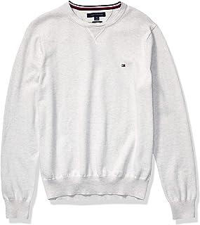 Men's Solid Crewneck Sweater