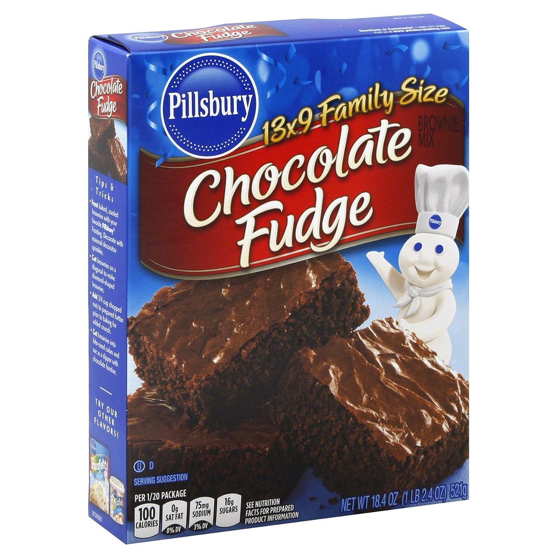 Pillsbury Brownie Mix, Rich Fudge, 18.4 oz