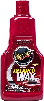 Meguiar's A1216 Cleaner Wax, 16 Fluid Ounces: image