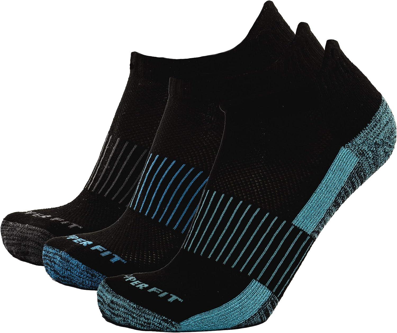 Copper Fit Unisex No Show Ankle Socks