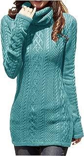 v28 Women Polo Neck Knit Stretchable Elasticity Long Slim Sweater