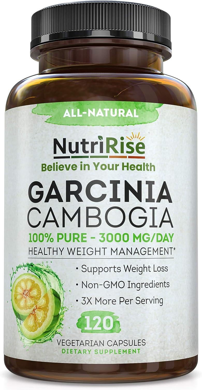 NutriRise Garcinia Cambogia - 3000mg Industry No. 1 120 Capsules Oklahoma City Mall
