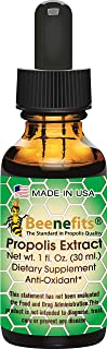 100% Pure Organic Brazilian Propolis Extract 1 oz. Natural Healer - Collected by Honeybees